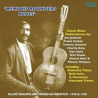 Forskellige kunstner - Memphis Rounders Blues [CD] USA import