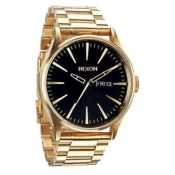 Nixon The Sentry SS Watch - All Gold/Black