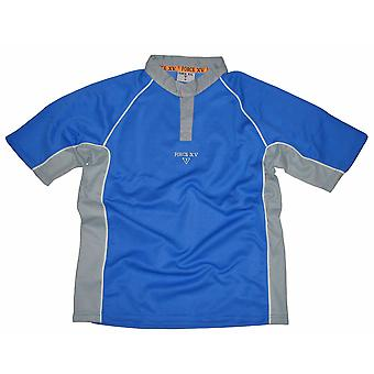 FORCE XV Paramata Teamwear Rugby Match Shirt [royal]