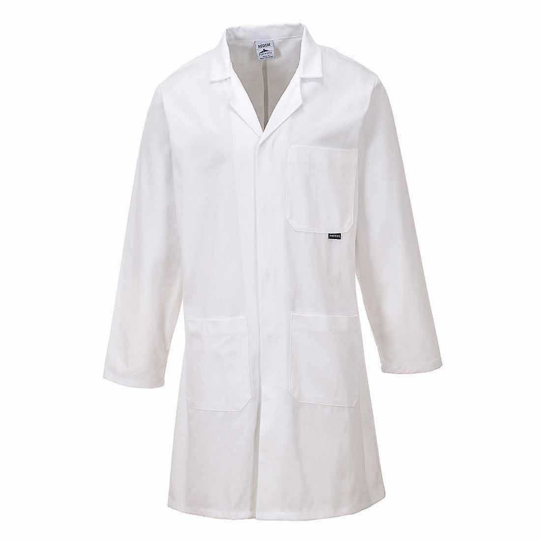 Portwest - Workwear Standard Lab - Medical-Food Prep Coat 100% Cotton