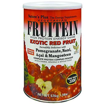 Natures Plus FRUITEIN EXOTIC RED FRUIT SHAKE 1.35 LB