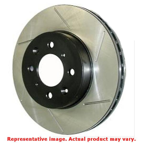 StopTech Brake Rotor - SportStop Slotted 126.63063SL Front Left Fits:CHRYSLER
