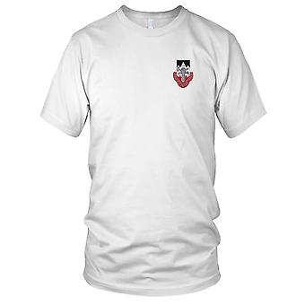 US Army - 2nd Brigade 2nd Infantry Division Special Troops Battalion Embroidered Patch - STB-8 Mens T Shirt