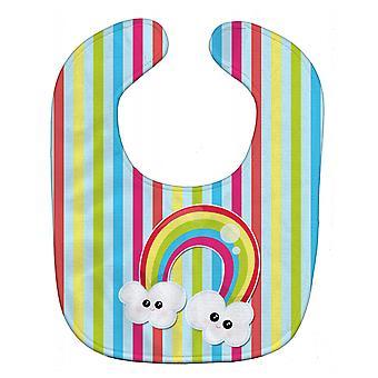 Carolines Schätze BB7151BIB Wetter Rainbow Face Baby Lätzchen