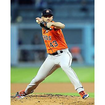 Lance McCullers Game 7 of the 2017 World Series Photo Print