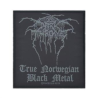 Darkthrone True Norwegian Black Metal Woven Patch