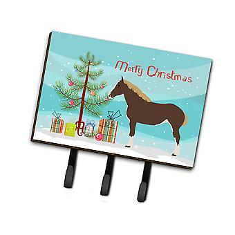 Carolines Treasures  BB9273TH68 Percheron Horse Christmas Leash or Key Holder