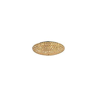 Ideale Lux - koning Extra grote gouden Flush Idl073262