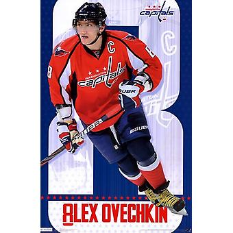Washington Capitals - Alex Ovechkin 2011 Poster Print