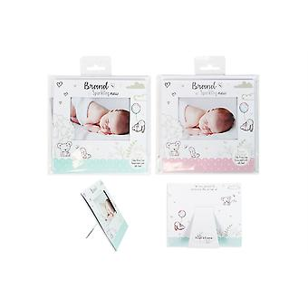 Newborn Announcement Card Frames Baby Arrival Keepsake Picture Frame Baby Photo