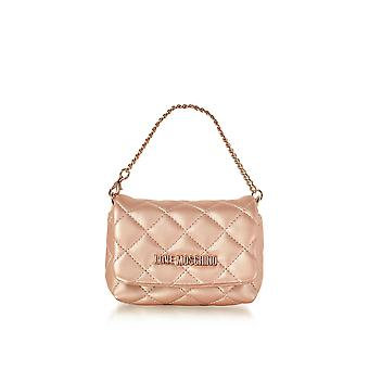 Love Moschino ladies JC4099PP15LO0905 pink leather handbags