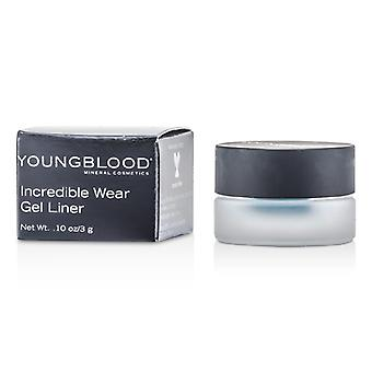 Youngblood incroyable porter Gel Liner - Lagoon # 3g / 0,1 oz