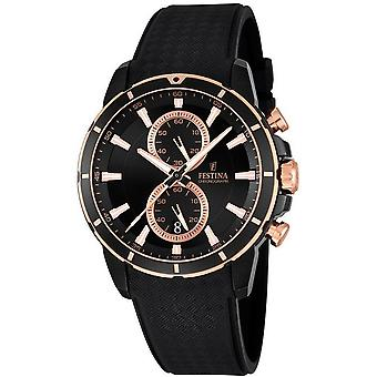 FESTINA - men's watch - F16852/1 - chronograph sports - sports