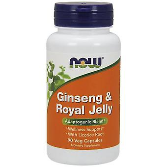 Nu Foods Ginseng & Royal Jelly 90 Veggie kapslar