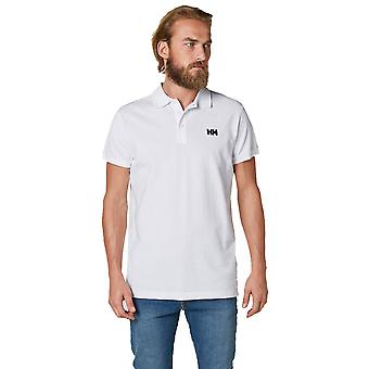 Helly Hansen męskie Logo Transat na co dzień krótki rękaw bawełniana koszulka Polo