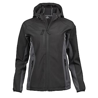 Tee Jays Womens Ladies Hooded Performance Softshell Jacket