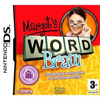 Margots Word Brain (Nintendo DS) - Factory Sealed