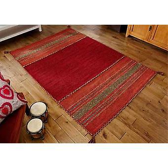 Kelim rojo corredor alfombras alfombras modernas