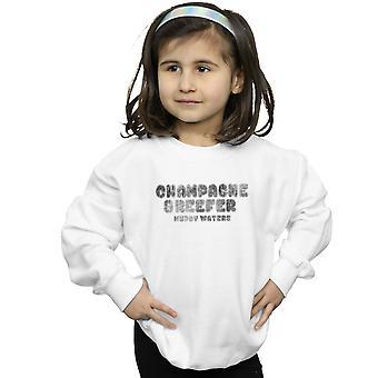 Muddy Waters Mädchen Champagner und Reefer Kaboom Distressed Sweatshirt