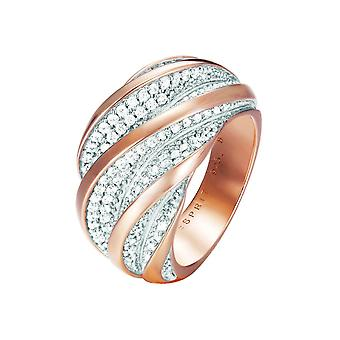 Esprit Collection Damen Ring Silber Rosé Zirkonia Melina Gr.18 ELRG92461A180