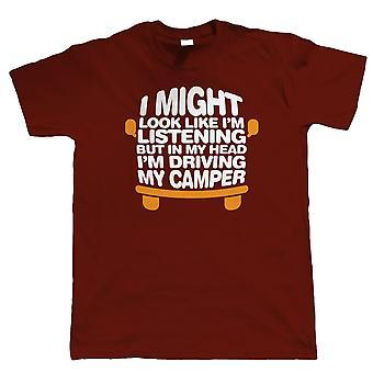 I hodet mitt kjører min Camper, Mens bobil T skjorte
