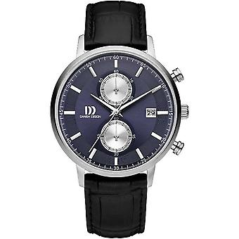 Danish design mens watch TIDLØS COLLECTION chronograph IQ22Q1215