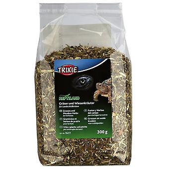 Trixie Grasses and Meadow Herbs for Tortoises (Reptiles , Reptile Food)