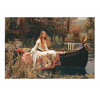 Die Dame von Shalott Poster Print von John William Waterhouse (10 x 8)