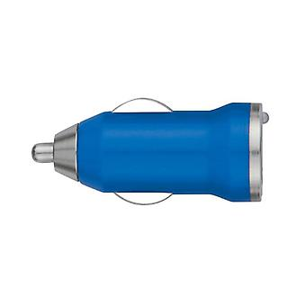 Stuff Certified ® iPhone / iPad / iPod AAA + USB Car Charger 5V - 1A - Quick Charge - Blue