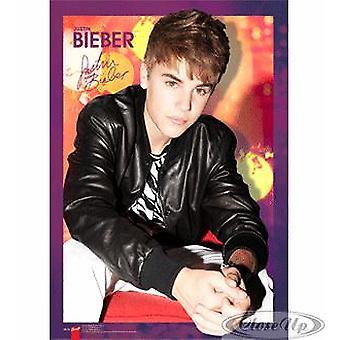 Justin Bieber 3D Poster  3-D Lentikular-Poster. Kleinformat