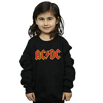 AC/DC Girls Red Logo Sweatshirt