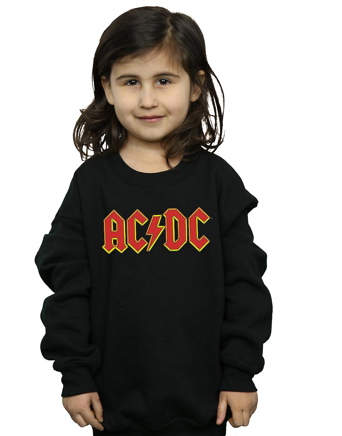Les filles AC DC Logo rouge Sweatshirt