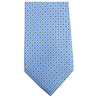 Knightsbridge Neckwear Dotted Tie - Blue/Navy