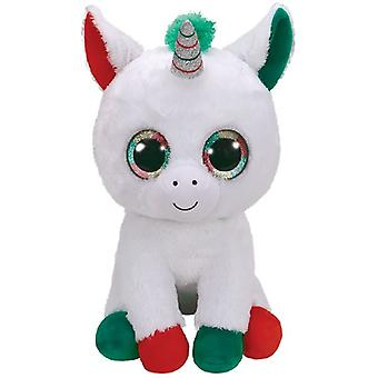 Ty Boo's Kerst Candy Unicorn 42cm