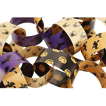 Double Sided Halloween Decorative Paper Chains