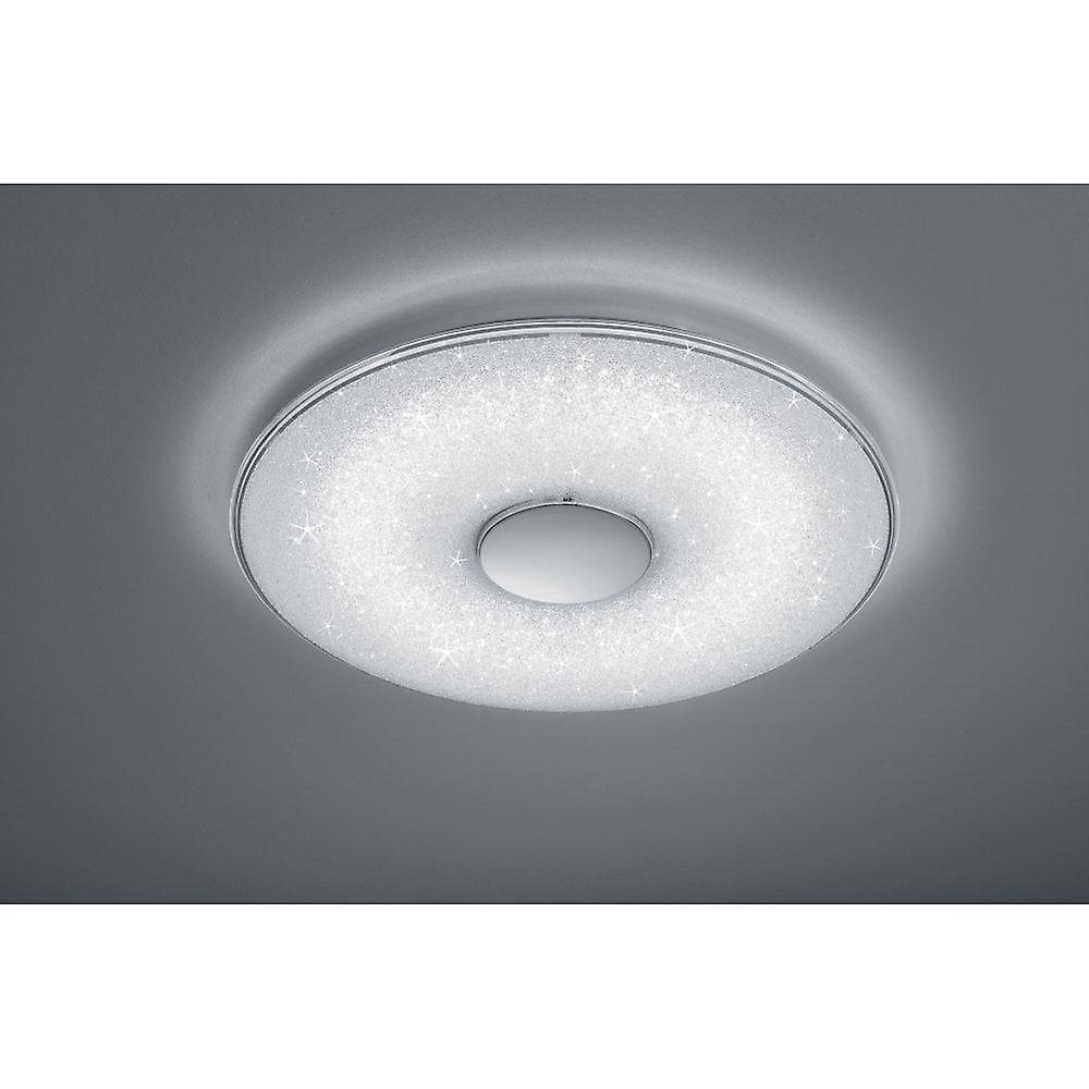 Trio d'éclairage lampe de plafond en plastique blanc moderne de Toyama