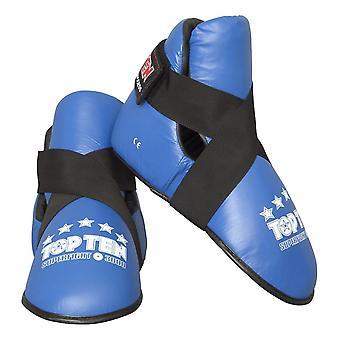 Top zehn Superkampf 3000 Leder Kick blau