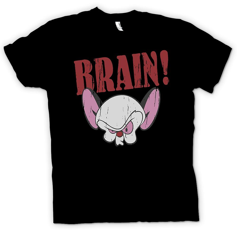 Kids T-shirt - Brain - Pink And The Brain Inspired