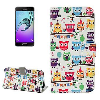 Schutzhülle Wallet Muster 25 für Samsung Galaxy A3 A320F 2017
