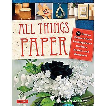 Alle dingen papier