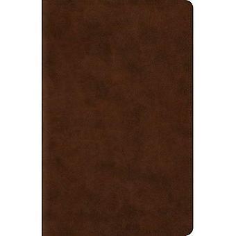 Bíblia de referência de margem ESV Wide (TruTone, Brown) (Esv Bíblias)