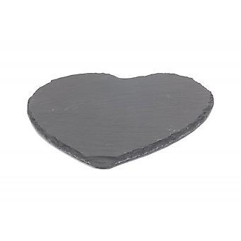 Heart-Shaped Slate Cheese Board