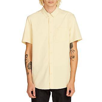Volcom Men's Shirt ~ Everett Oxford yellow
