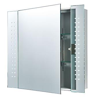 Revelo éclairé miroir de salle de bain meuble - liberée 60894