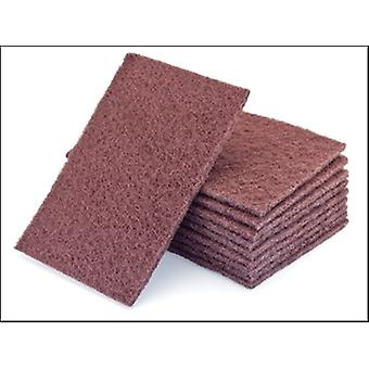 HAND PAD STANDARD VERY FINE (PACK OF 10) MAROON