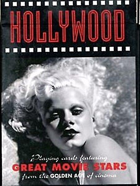 Hollywood vermelho conjunto de cartas de jogar + Jokers