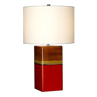 Stead-1 Light Table Lamp-Rouge-ALBA/TL ROUGE