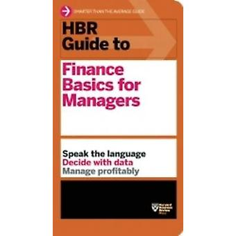 HBR Guide to Finance Basics for Managers by Harvard Business Review -