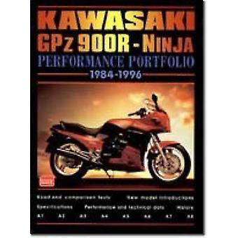 Kawasaki GPZ 900R Ninja Performance Portfolio 1984-1996 by R. M. Clar