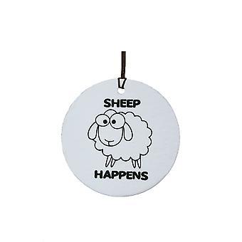 Sheep Happens Car Air Freshener